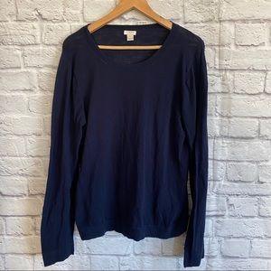 J. CREW FACTORY Dark Blue Navy Sweater